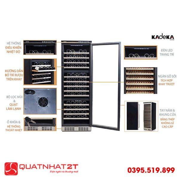 Tủ ướp rượu Kadeka KA-143T-2