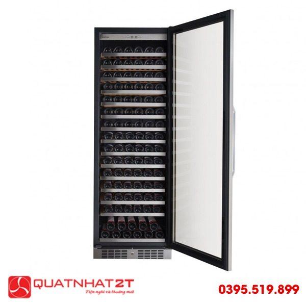 Tủ ướp rượu Kadeka KSJ168EW, 165 chai-1